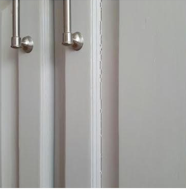 Cracking Paint on a cabinet door
