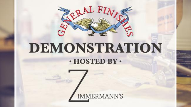 General Finishes Product Demonstrations at Zimmermann's Paints in Mora, Minnesota on Wednesday, June 12, 2019 from 5 PM to 7 PM