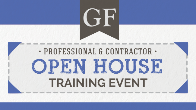 General Finishes Professional & Contractor Open House Training Event