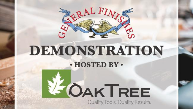 General Finishes Demo at 5th Annual Northeast Indiana Artisans Fair at OakTree Supply in Fort Wayne, IN on Saturday, August 17, 2019 from 9 a.m. to 4 p.m.